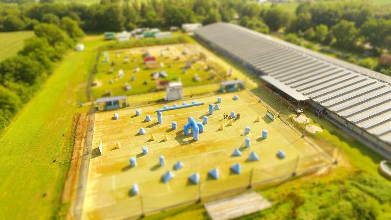 Burg/Dithmarschen-Paintballanlage-Outdoorspielfeld